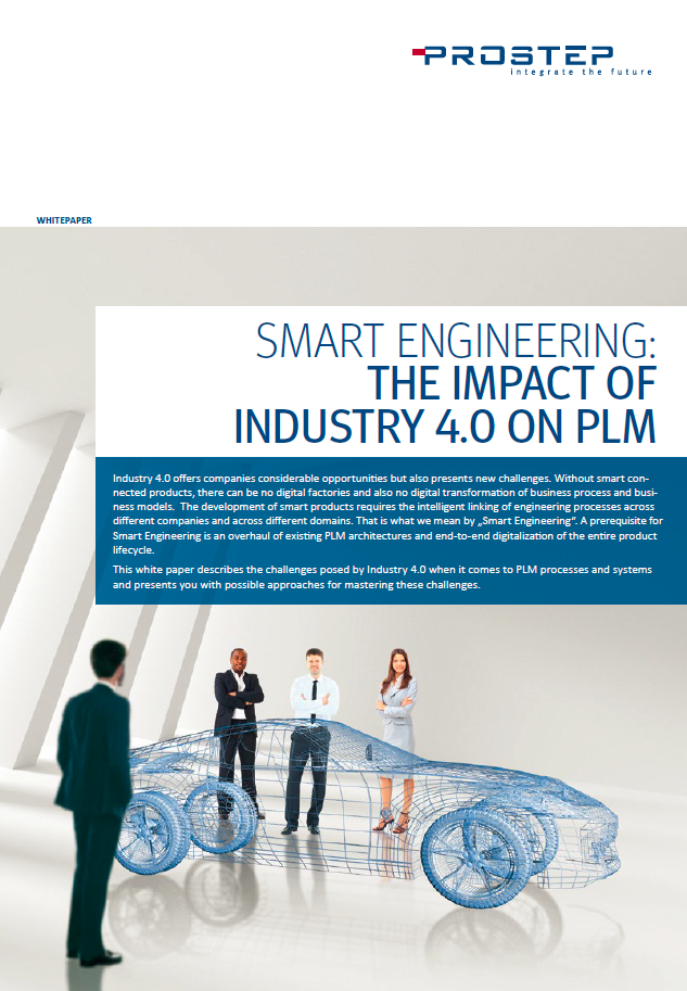 White Paper - Smart Engineering: The Impact of Industry 4.0 on PLM