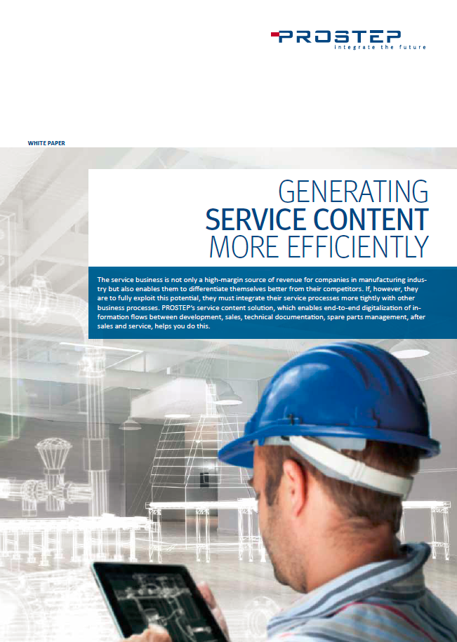 Generating Service Content More Efficiencly White Paper