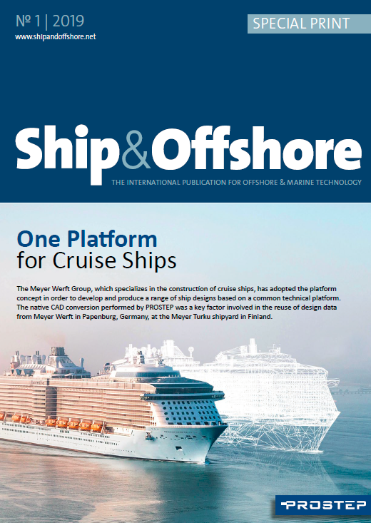 ​Ship and Offshore: One Platform for Cruise Ships Success Story