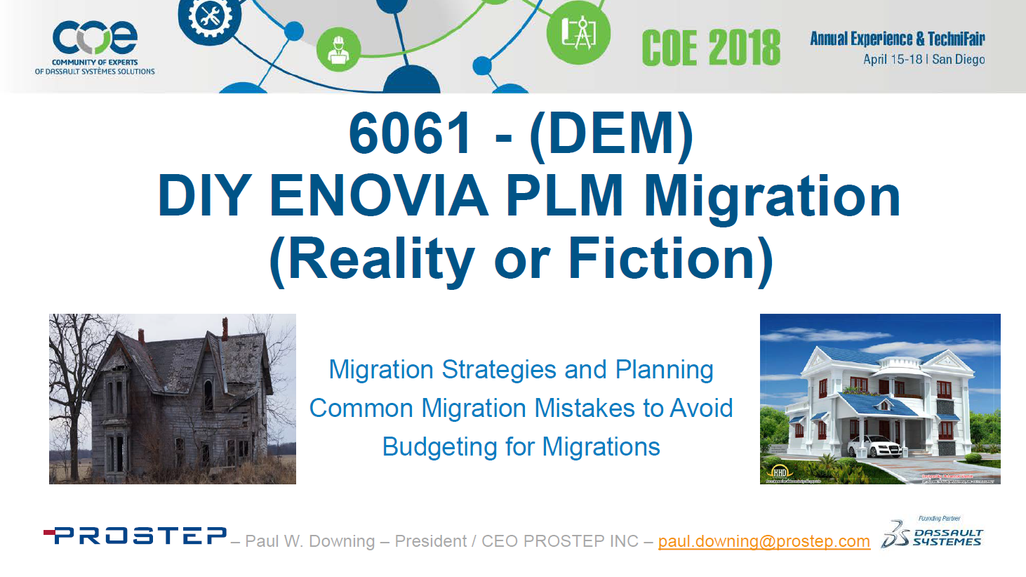 ​DIY ENOVIA PLM Migration - Reality or Fiction