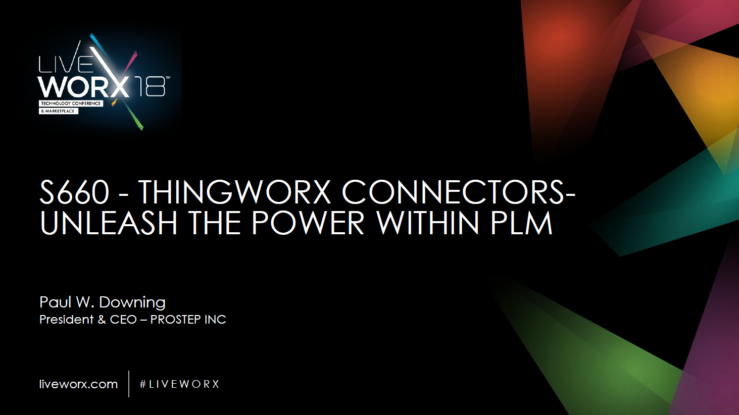 ​ThingWorx Connectors - Unleash the Power within PLM Presentation