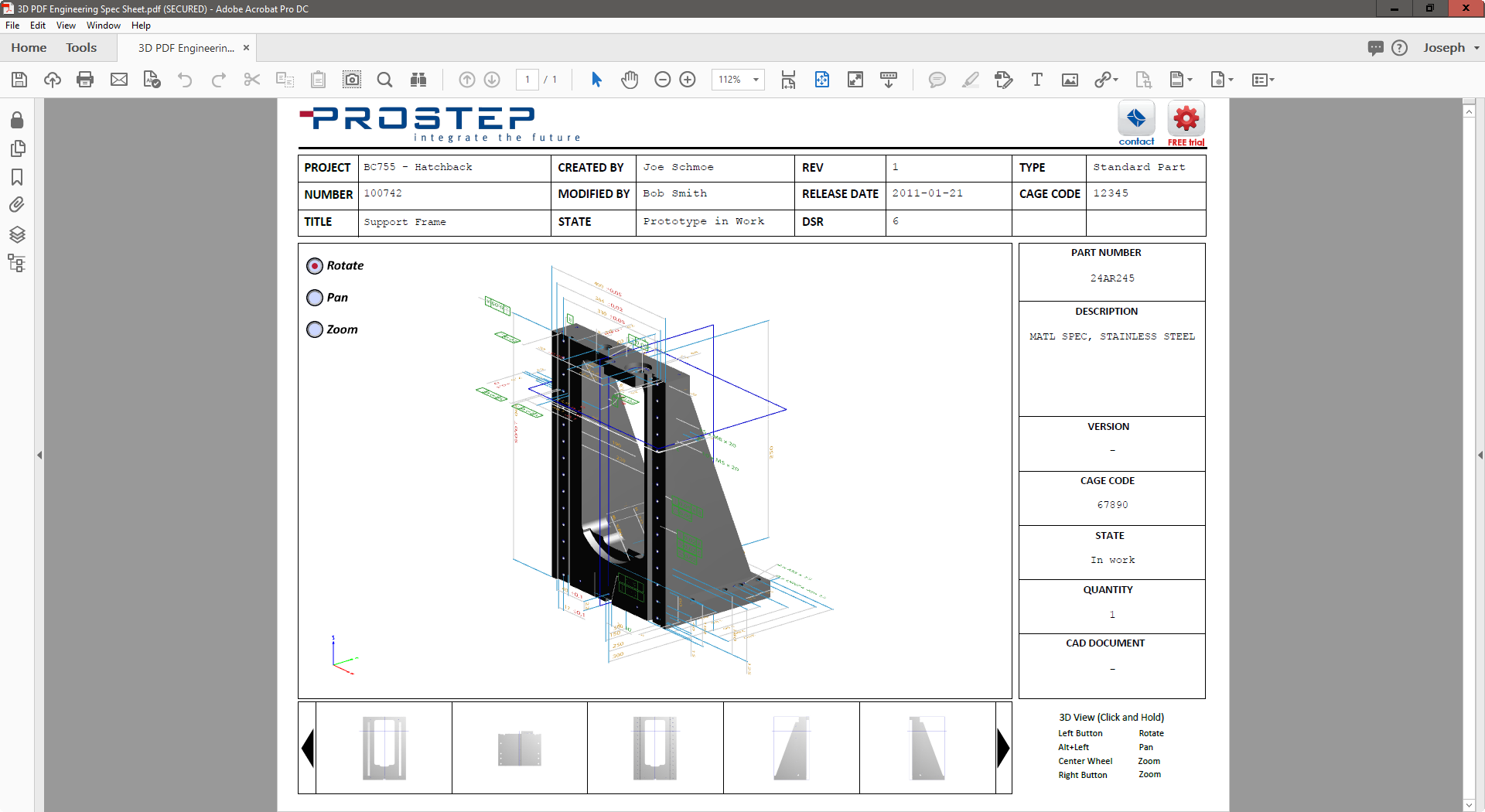 3D PDF Samples and Examples · PROSTEP US