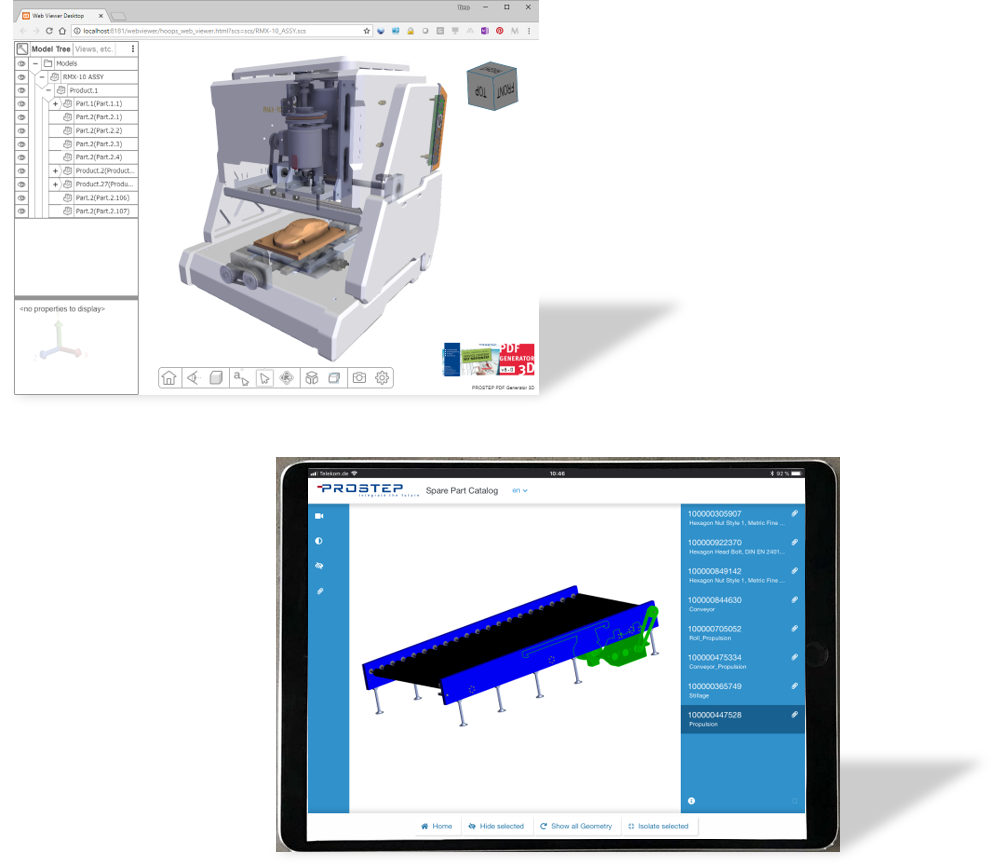 3D PDF Technology for CAD Collaboration · PROSTEP US