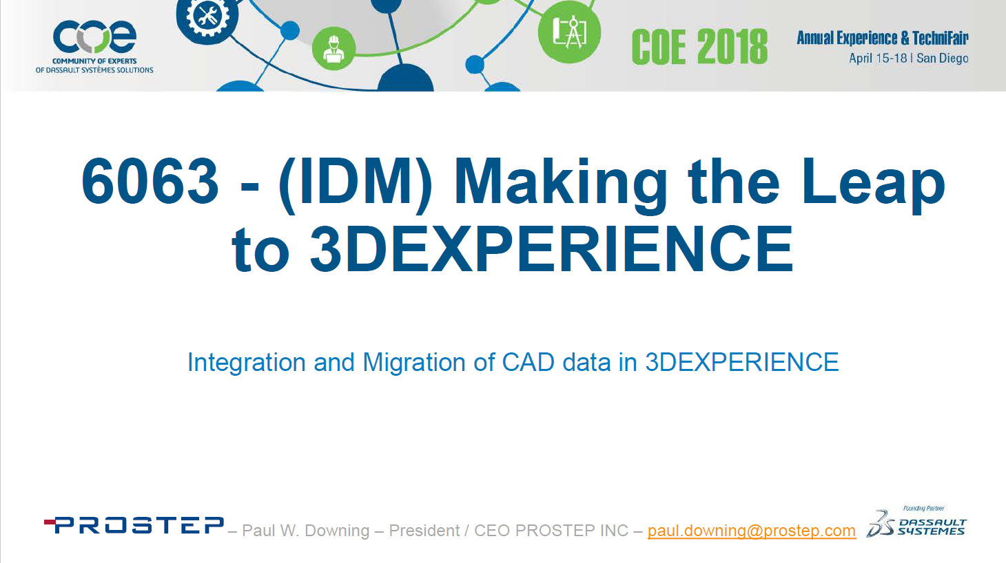 Integration/Migration of CAD Data in 3DEXPERIENCE