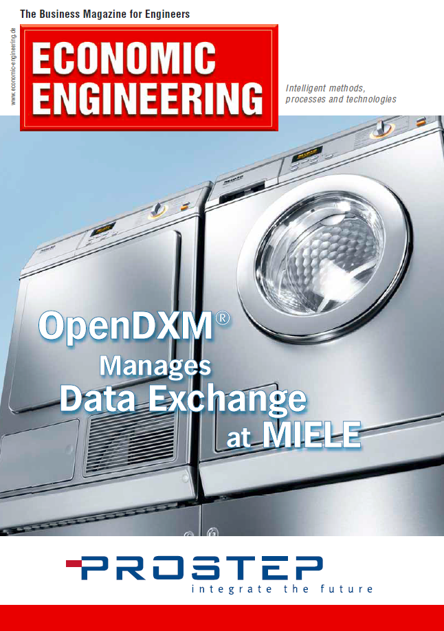 OpenDXM Manages Data Exchange at  ​MIELE Success Story