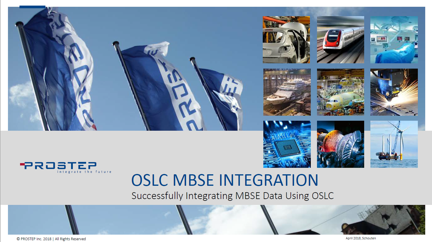 ​OSLC Model Based Systems Engineering    Integration - Presentation