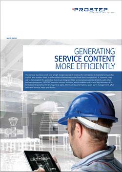 Generating-Service-Content