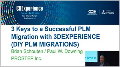 3 Keys to a Successful PLM Migration - Paul Downing