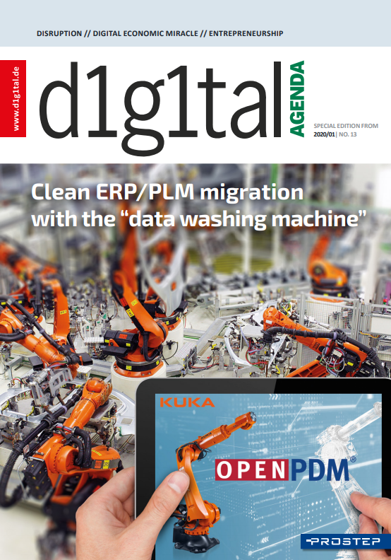 """Clean ERP/PLM Migration with the """"Data Washing Machine"""""""