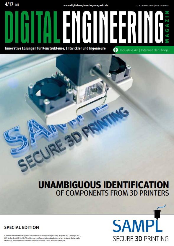 Unambiguous Identification of Components from 3D Printers