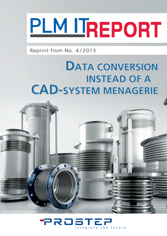 Data Conversion Instead of a CAD-System Menagerie