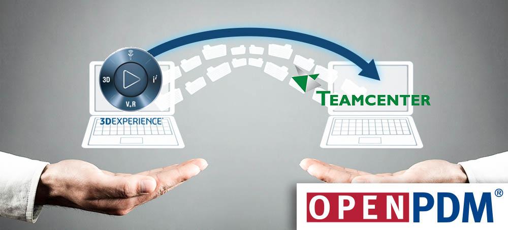 3DEXPERIENCE to Teamcenter Migration OpenPDM