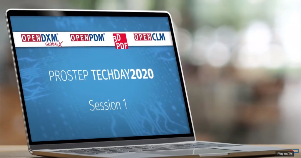 PROSTEP TechDay 2020 - Session 1